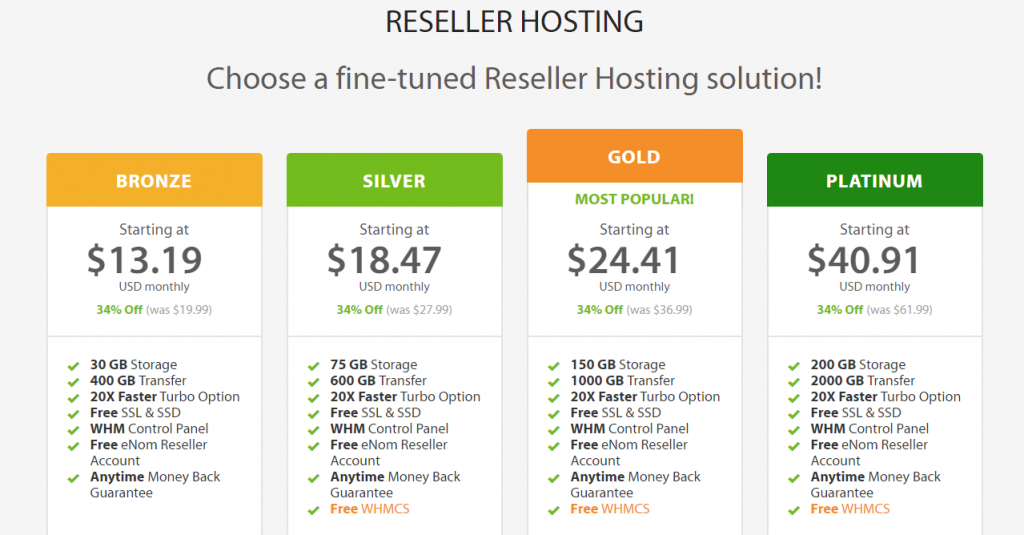 HostGator Reseller Alternatives 1
