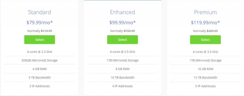 Bluehost Pricing 2019 - Web Hosting Plans 4