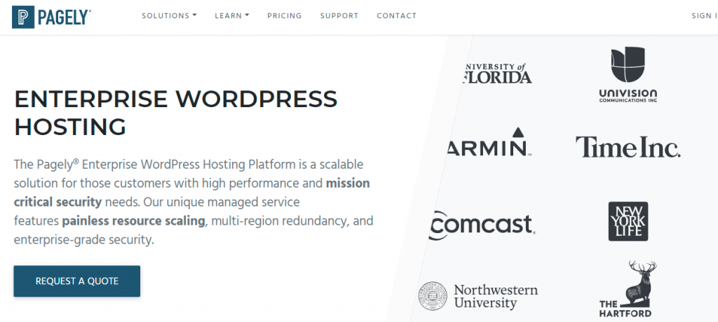 10 Best Enterprise WordPress Hosting 2020 (Reviews) 5